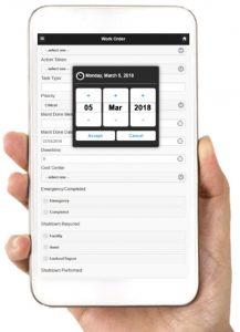 FaciliWorks CMMS Móvil - Para usar en teléfonos inteligentes y tabletas